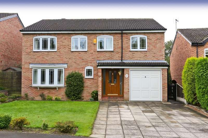 5 Bedrooms Detached House for sale in Woodthorpe Park Drive, Sandal