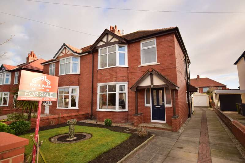 3 Bedrooms Semi Detached House for sale in Ryeheys Road, Lytham St Annes, FY8