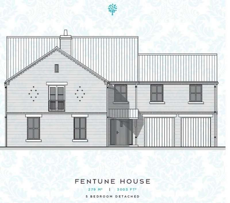5 Bedrooms Detached House for sale in Fentune House, Meadows Edge, Biggin, LS25 6HJ