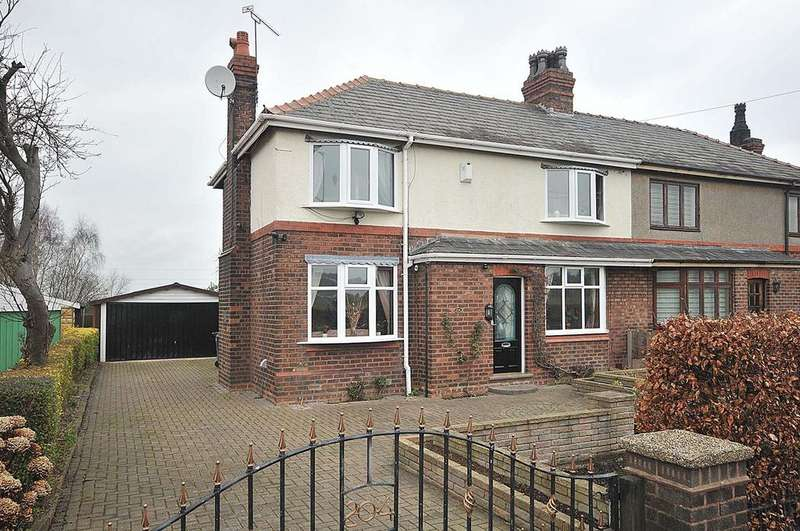 3 Bedrooms Semi Detached House for sale in Runcorn Road, Moore
