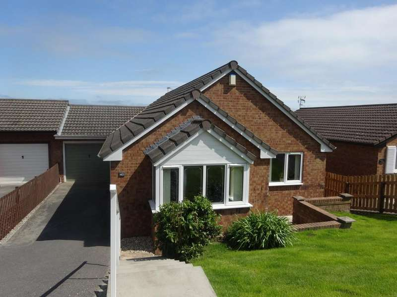 3 Bedrooms Detached Bungalow for sale in Lon Y Mes, Abergele