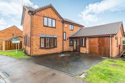 4 Bedrooms Detached House for sale in Middles Avenue, Warndon Villages, Worcester, Worcestershire