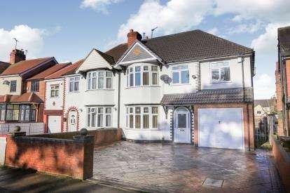 5 Bedrooms Semi Detached House for sale in Park Road West, West Park, Wolverhampton, West Midlands