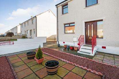 2 Bedrooms End Of Terrace House for sale in Barbieston Avenue, Drongan