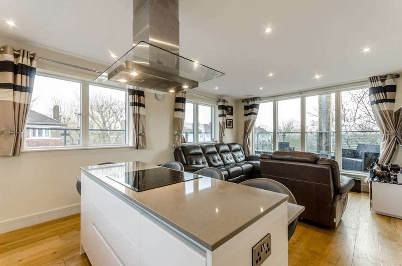 2 Bedrooms Penthouse Flat for sale in New Claremont Apartments, Setchell Road, Bermondsey, SE1