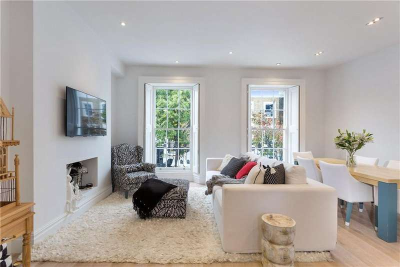 3 Bedrooms Maisonette Flat for sale in St. Peter's Street, Islington, London, N1