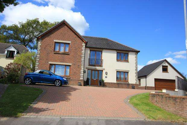 4 Bedrooms Detached House for sale in Dol Yr Onnen, Monument Hill, Carmarthen, Carmarthenshire
