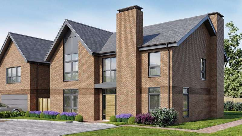 5 Bedrooms Detached House for sale in Upper Longcross
