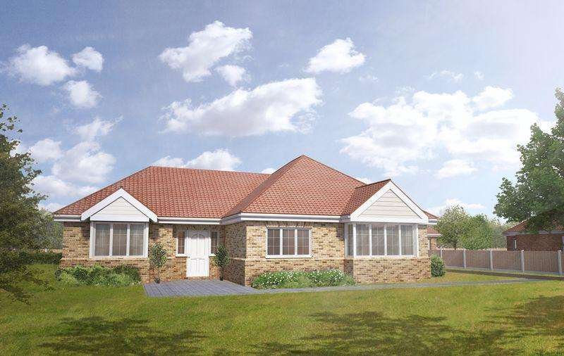 3 Bedrooms Detached Bungalow for sale in Plot 1, The Mulberry, Tower Drive, Woodhall Spa