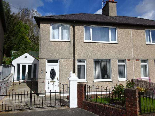 3 Bedrooms End Of Terrace House for sale in PENCHWINTAN ROAD, BANGOR LL57