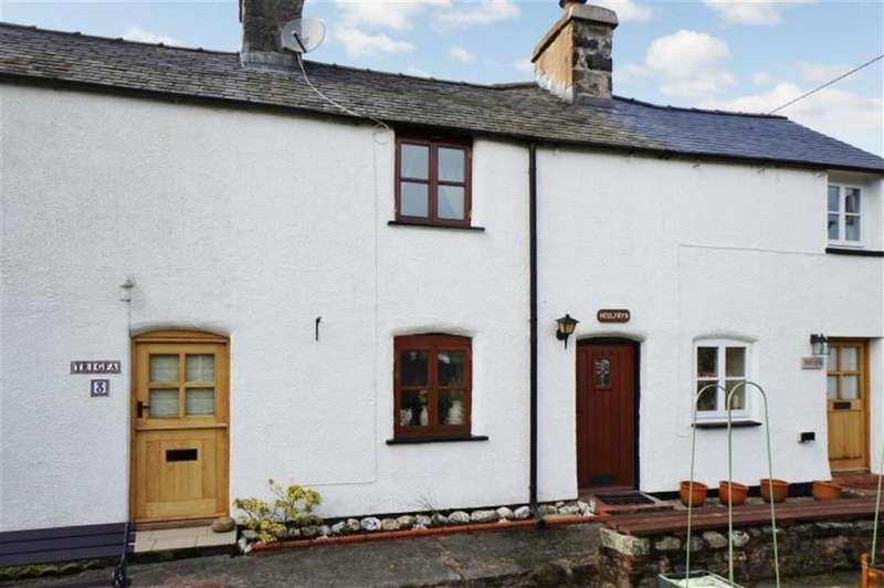 2 Bedrooms Terraced House for sale in Tai Newyddion, Gwytherin, Abergele