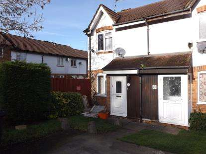 2 Bedrooms End Of Terrace House for sale in Mannington Lane, Westlea, Swindon, Wiltshire