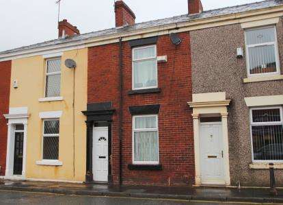 2 Bedrooms Terraced House for sale in New Wellington Street, Blackburn, Lancashire, BB2