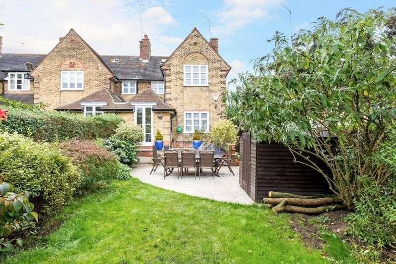 4 Bedrooms End Of Terrace House for sale in Coleridge Walk, Hampstead Garden Suburb, London, NW11