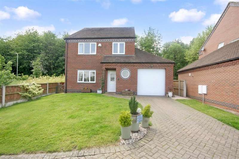 3 Bedrooms Detached House for sale in Park Meadow, Park Hall, Oswestry