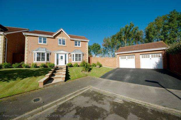 4 Bedrooms Detached House for sale in NIGHTINGALE CLOSE, BISHOP CUTHBERT, HARTLEPOOL