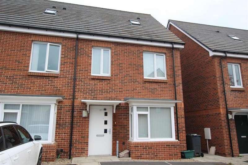 3 Bedrooms Semi Detached House for sale in Sorrel Close, Darlington