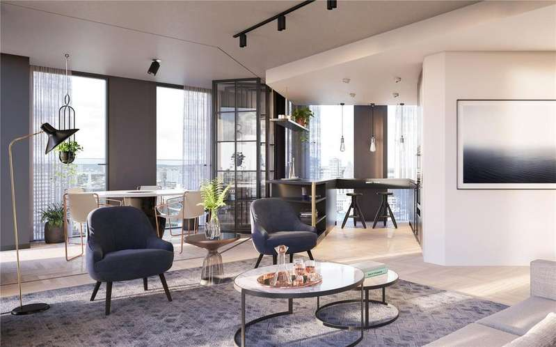 3 Bedrooms Apartment Flat for sale in One Crown Place, London, EC2A