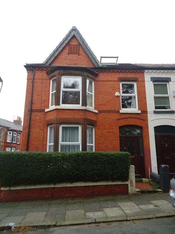 4 Bedrooms Terraced House for sale in Croydon Avenue, Liverpool