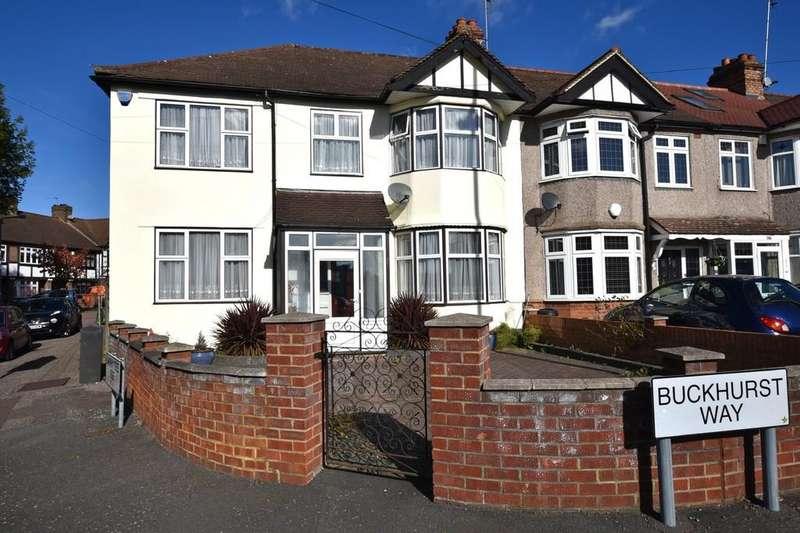 5 Bedrooms End Of Terrace House for sale in Buckhurst Way, Buckhurst Hill