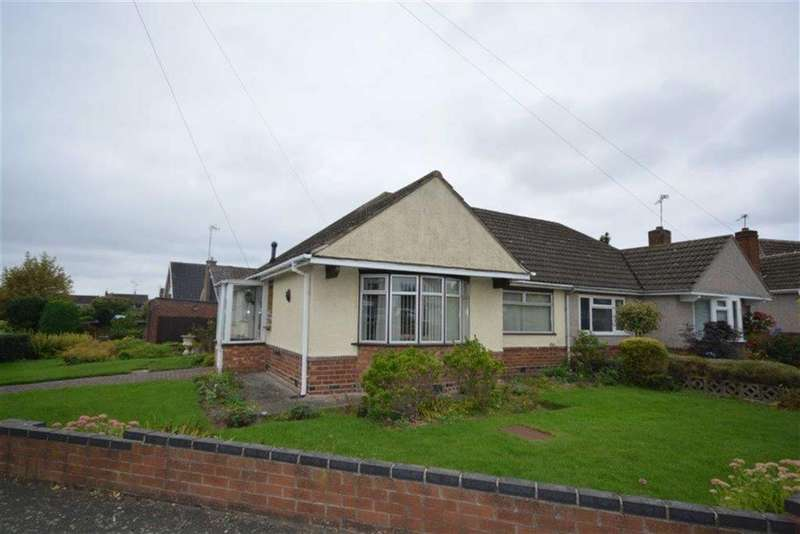 2 Bedrooms Semi Detached Bungalow for sale in Kingsley Crescent, Bulkington