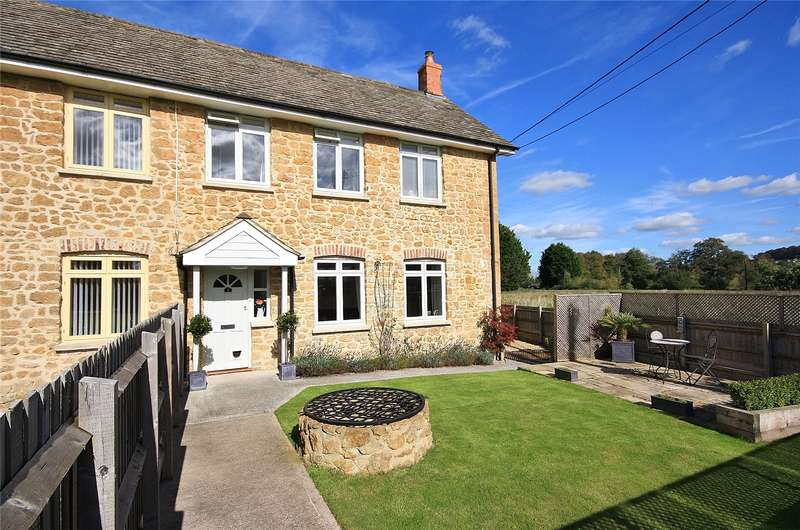 3 Bedrooms House for sale in Rose Mill Cottages, Hort Bridge, Ilminster, Somerset, TA19
