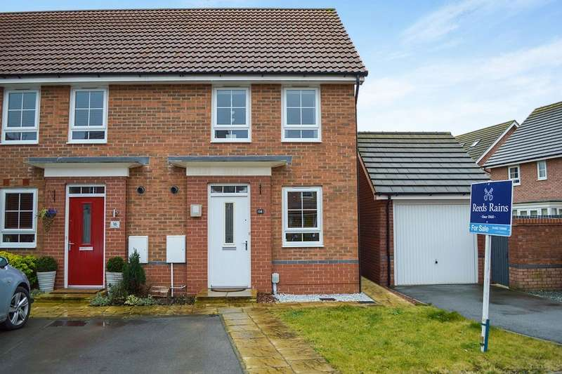 2 Bedrooms Semi Detached House for sale in Brompton Park, Kingswood Parks, Hull, HU7