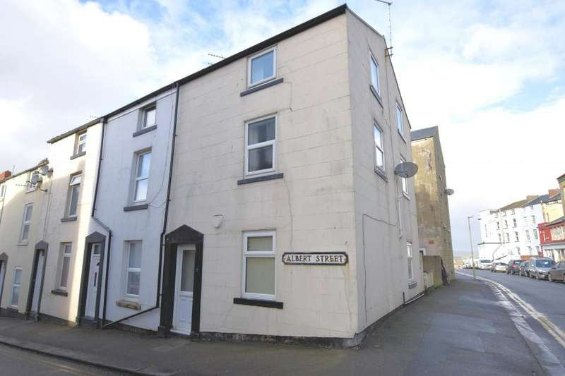 4 Bedrooms End Of Terrace House for sale in Albert Street, Scarborough, North Yorkshire YO12 7HW