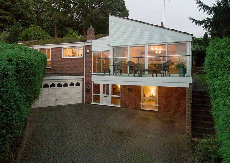 4 Bedrooms Detached House for sale in Noutards Green, Shrawley, Worcester, Worcestershire, WR6