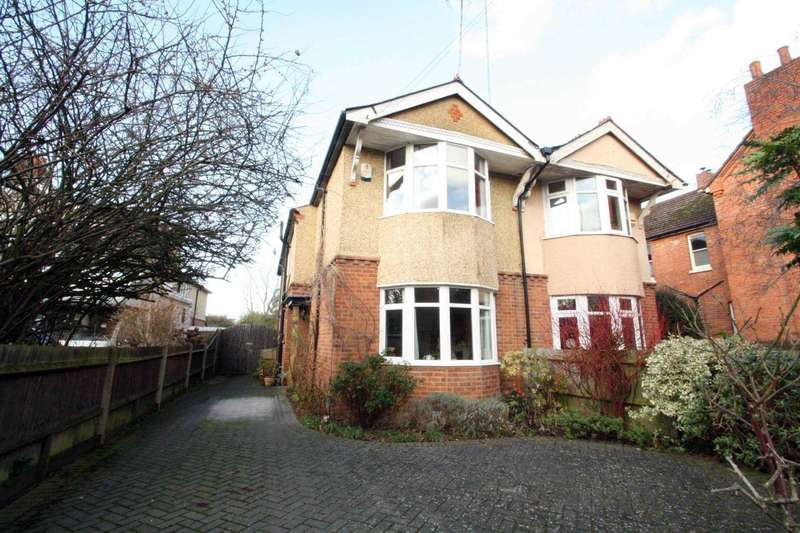 3 Bedrooms Semi Detached House for sale in Crescent Road, Reading