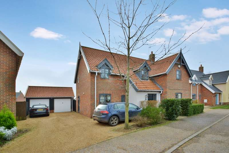 4 Bedrooms Detached House for sale in Diamond Close, Winfarthing