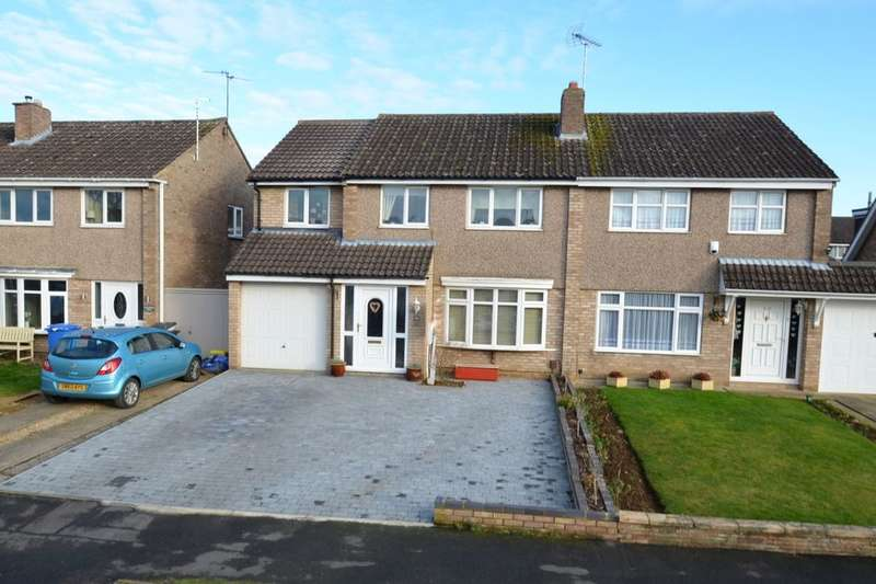 4 Bedrooms Semi Detached House for sale in Culloden Drive, Kettering, NN15
