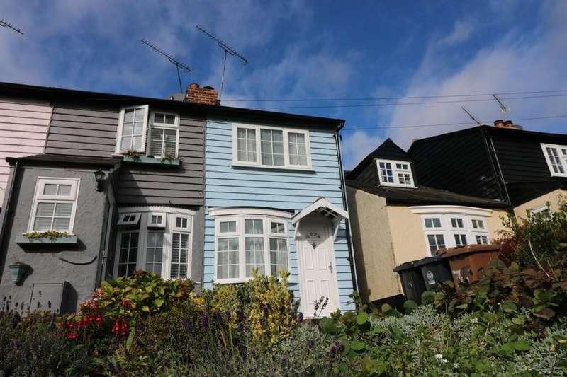 2 Bedrooms End Of Terrace House for sale in High Street, Puckeridge