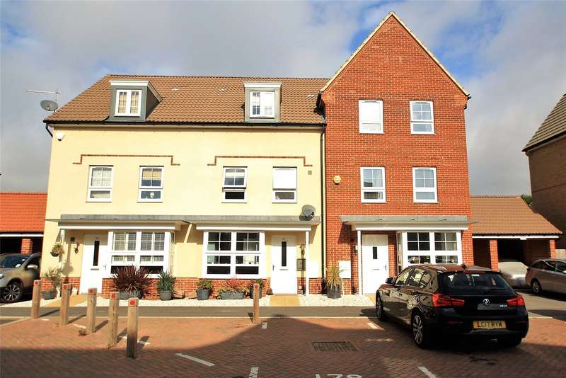 4 Bedrooms Terraced House for sale in Overton Road, Worthing, West Sussex, BN13