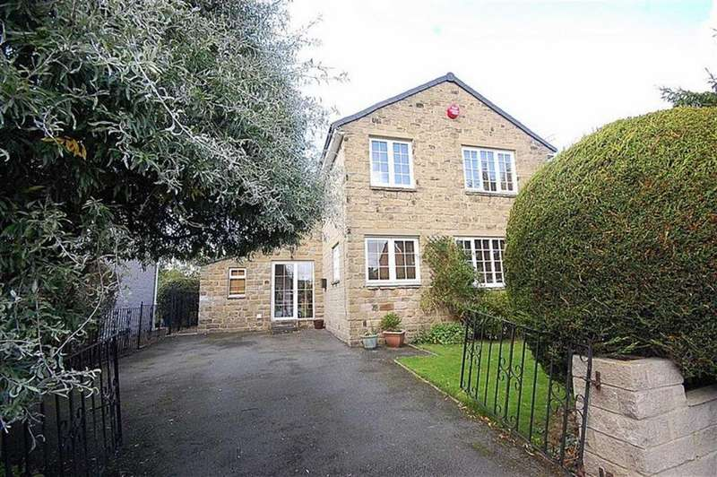 3 Bedrooms Detached House for sale in Greenway, Honley, Holmfirth, HD9