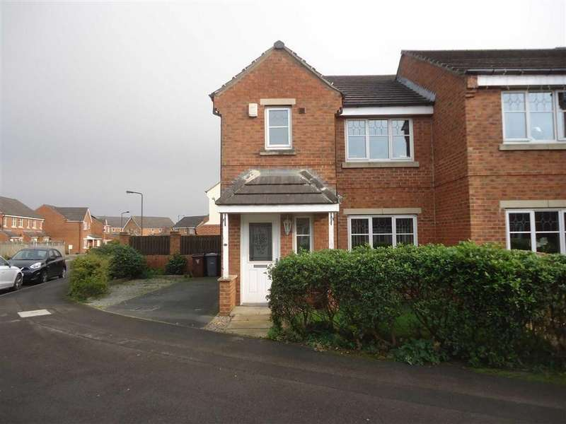 3 Bedrooms Semi Detached House for sale in Beanland Gardens, Bradford, West Yorkshire, BD6