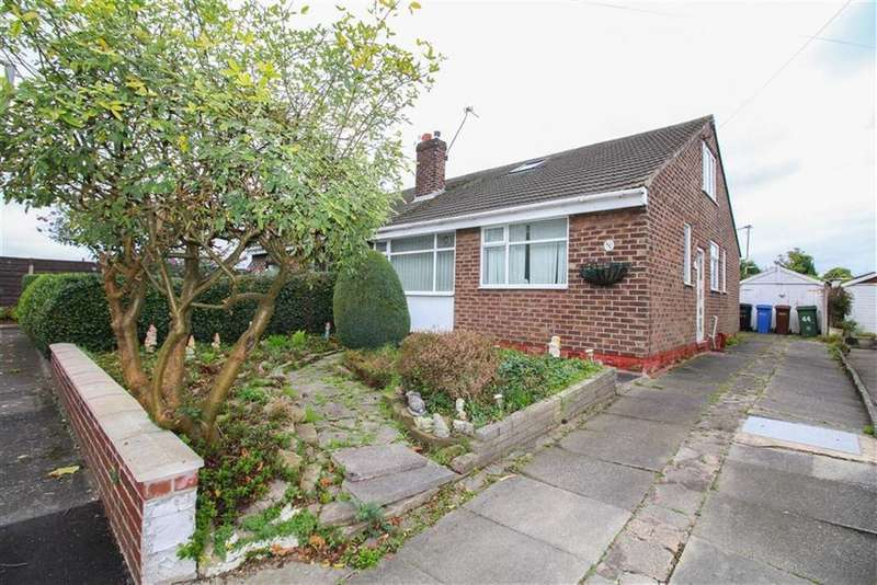 2 Bedrooms Semi Detached Bungalow for sale in Hopedale Road, Reddish, Stockport