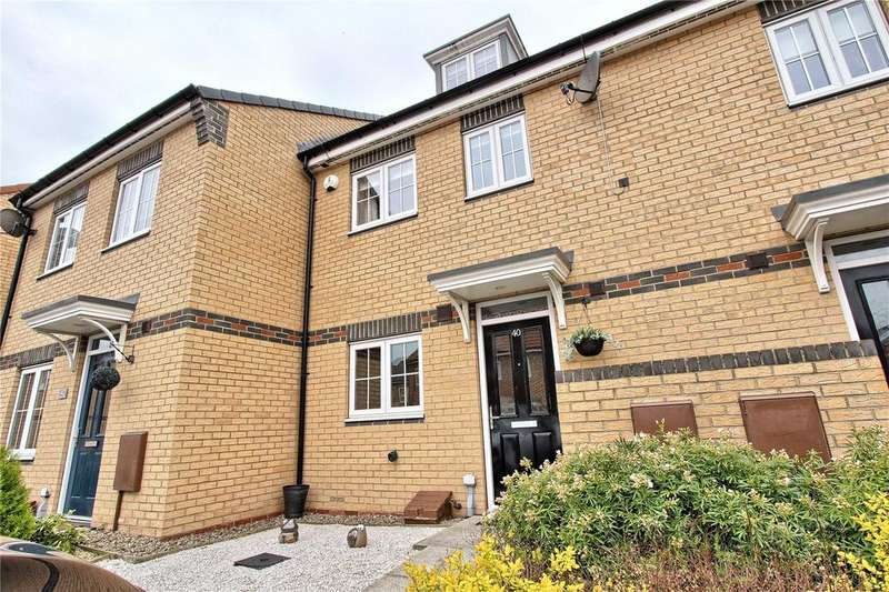 3 Bedrooms Terraced House for sale in Verbena Drive, College Gardens