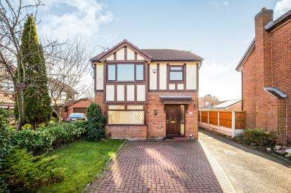 3 Bedrooms Detached House for sale in Mortlake Close, Widnes, Cheshire, WA8