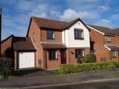 3 Bedrooms Detached House for sale in Brett Drive, Bromham, Bedford, Bedfordshire