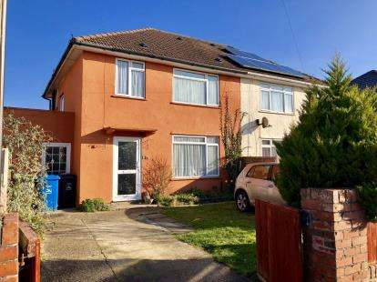 3 Bedrooms Semi Detached House for sale in Wallisdown, Poole, Dorset