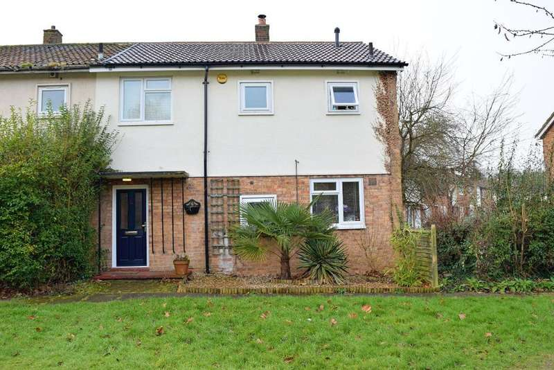 3 Bedrooms End Of Terrace House for sale in Churchfield, Harlow, Essex, CM20 3DA