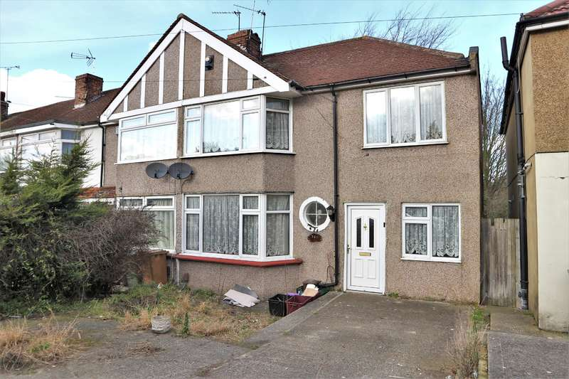 3 Bedrooms End Of Terrace House for sale in Parkside Avenue, Barnehurst, Kent, DA7 6NS