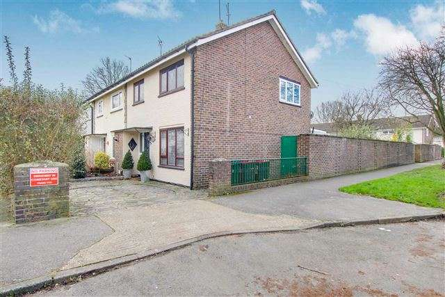 3 Bedrooms End Of Terrace House for sale in Drake Road, Tilgate, Crawley