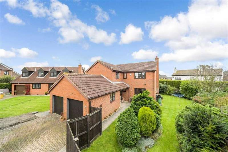 5 Bedrooms Detached House for sale in Castle Hill Glade, Harrogate, North Yorkshire