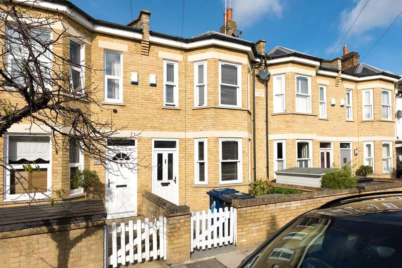 4 Bedrooms Terraced House for sale in Antrobus Road, Chiswick, London, W4