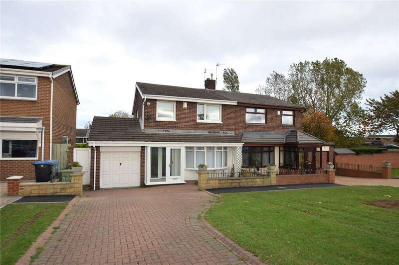 3 Bedrooms Semi Detached House for sale in Burnhall Drive, Seaham, Co.Durham, SR7