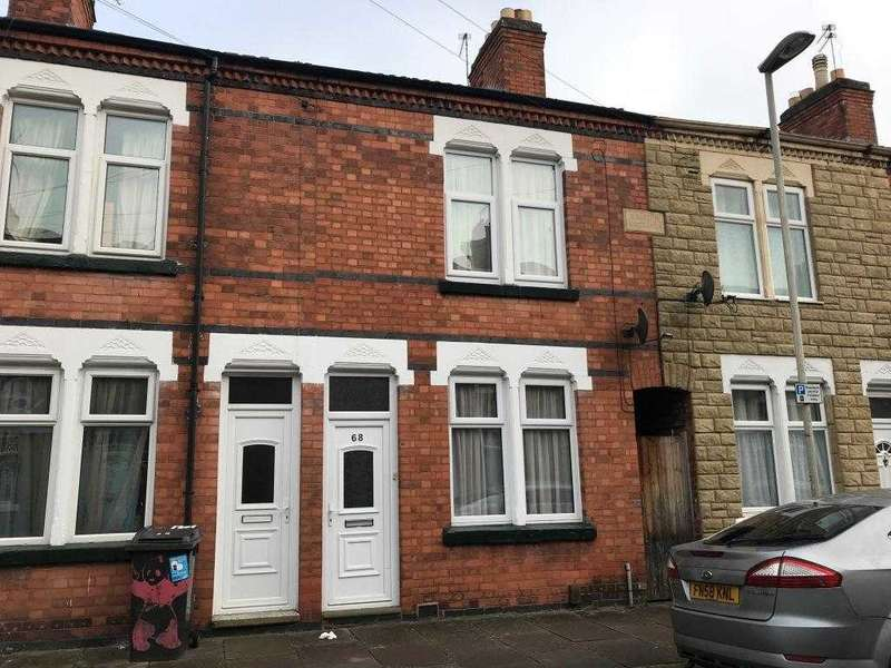 2 Bedrooms Terraced House for sale in Stuart Street, Leicester
