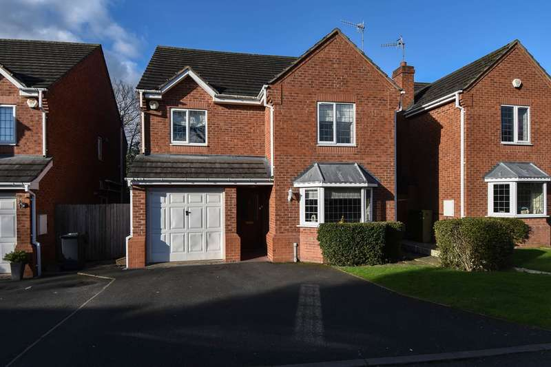5 Bedrooms Detached House for sale in Eliza Gardens, Catshill, Bromsgrove, B61