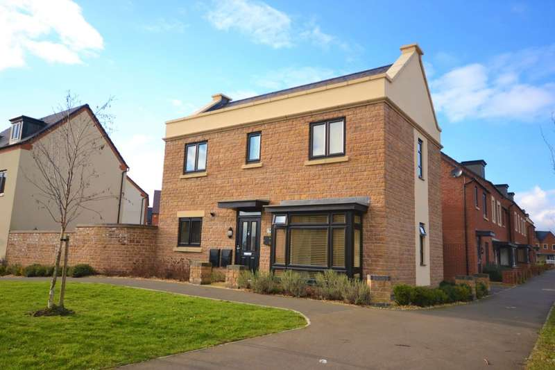 3 Bedrooms Detached House for sale in Bronte Close, Duston, Northampton, NN5
